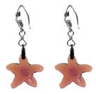 12 mm colored glaze ball earrings