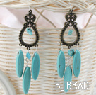 classci style turquoise earrigns