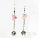 long style cherry quzrtze earrings under $ 40
