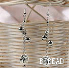 long style tibet silver earrings