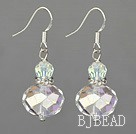 fashion lightened crystal earrings