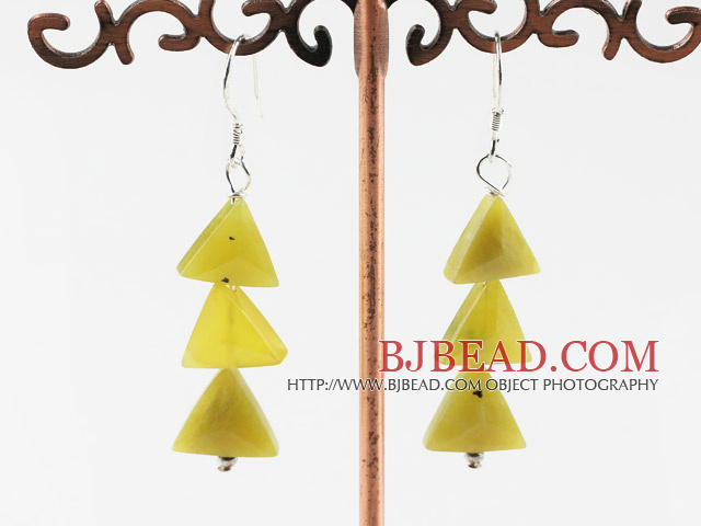 South Korea gem tree shape earrings