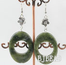 30*40mm chunky style gemstone earrings under $ 40
