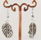 fashion metal jewelry CCB silver like earrings