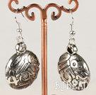 fashion metal jewelry CCB silver like earrings