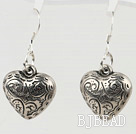 metal jewelry heart shape alloy earrings under $ 40