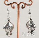 metal jewelry fish shape alloy earrings under $ 40
