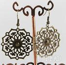 vintage style lovely copper earrings