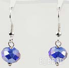 12mm faceted spaekling crystal earrings under $ 40