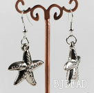 vogue jewelry starfish silver like fashion earrings