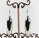 shinning CCB silver like fashion earrings