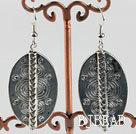 lovely CCB charm  tibet silver earrings