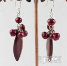 pearl shell earring under $3