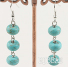 5*8mm turquoise earrings