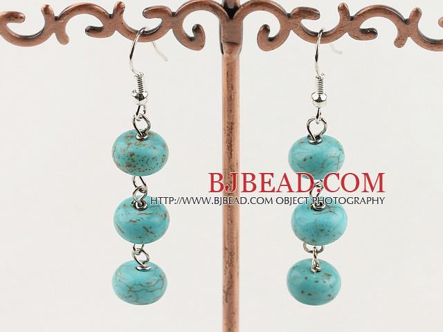5*8mm turquoise earrings