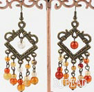exquisite vintage style agate earrings under $5
