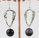 fashion 12mm purple agate earrings