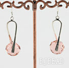 pink crystal earrings under $ 40