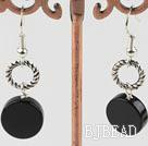 black agate earrings under $ 40