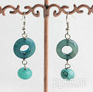 blue jade earrings