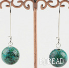 simple 16mm phoenix stone earrings