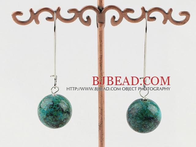 simple 16mm phoenix stone earrings
