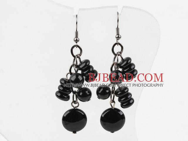 New Design Assorted Black Agate Earrings