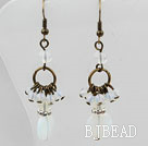 Vintage Style Assorted Opal Earrings