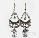 Multi Color Crystal Vintage Earrings