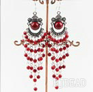 4mm alaqueca chandelier earrings