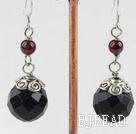 blue sandstone earrings