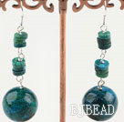 phoenix stone dangle earrings