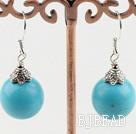 12mm turquoise earrings under $ 40
