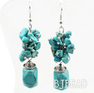 Dangle Style Assorted Turquoise Earrings