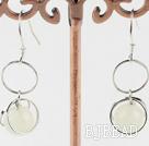 8mm serpentine jade earrings under $ 40