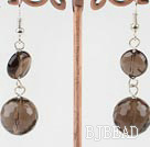 smoky quartze earrings