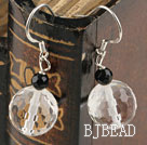 shinning clear crystal earrings