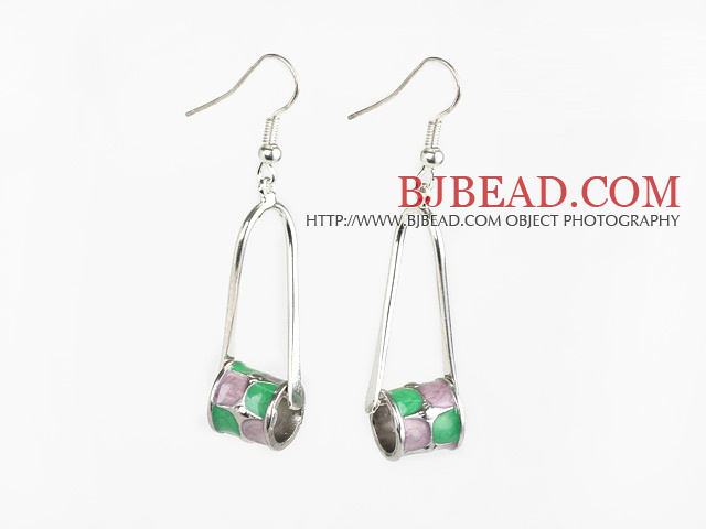 Lovely Style Colored Glaze Earrings
