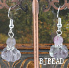 rainbow flourite earrings under $ 40
