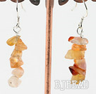 natural agate earrings under $ 40