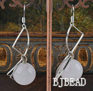 rose quartze earrings under $2.5