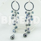 black pearl earrings under $ 40