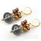 pearl crystal earrings under $ 40