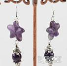 natural amethyst earrings under $3