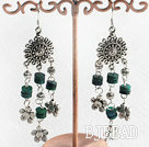chandelier shape beautiful phoenix stone earrings