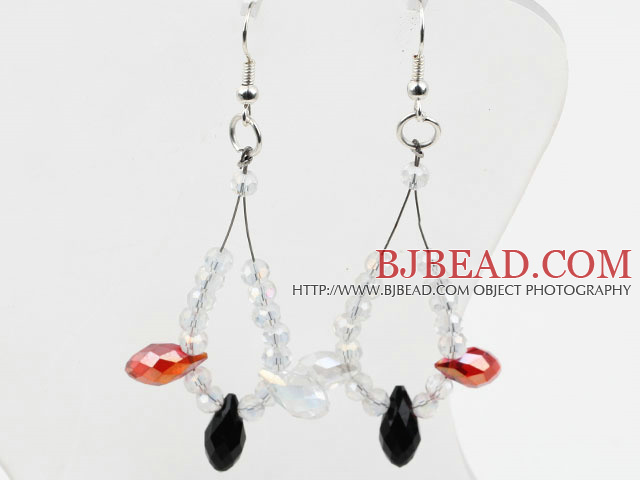 New Design Assorted Manmade Crystal Earrings