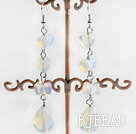 tear drop opal earrings