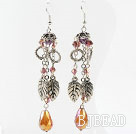 New Design Dangle Style Crystal Long Earrings