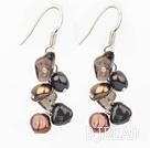 pearl crystal earring