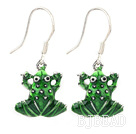cute frog earrings under $ 40